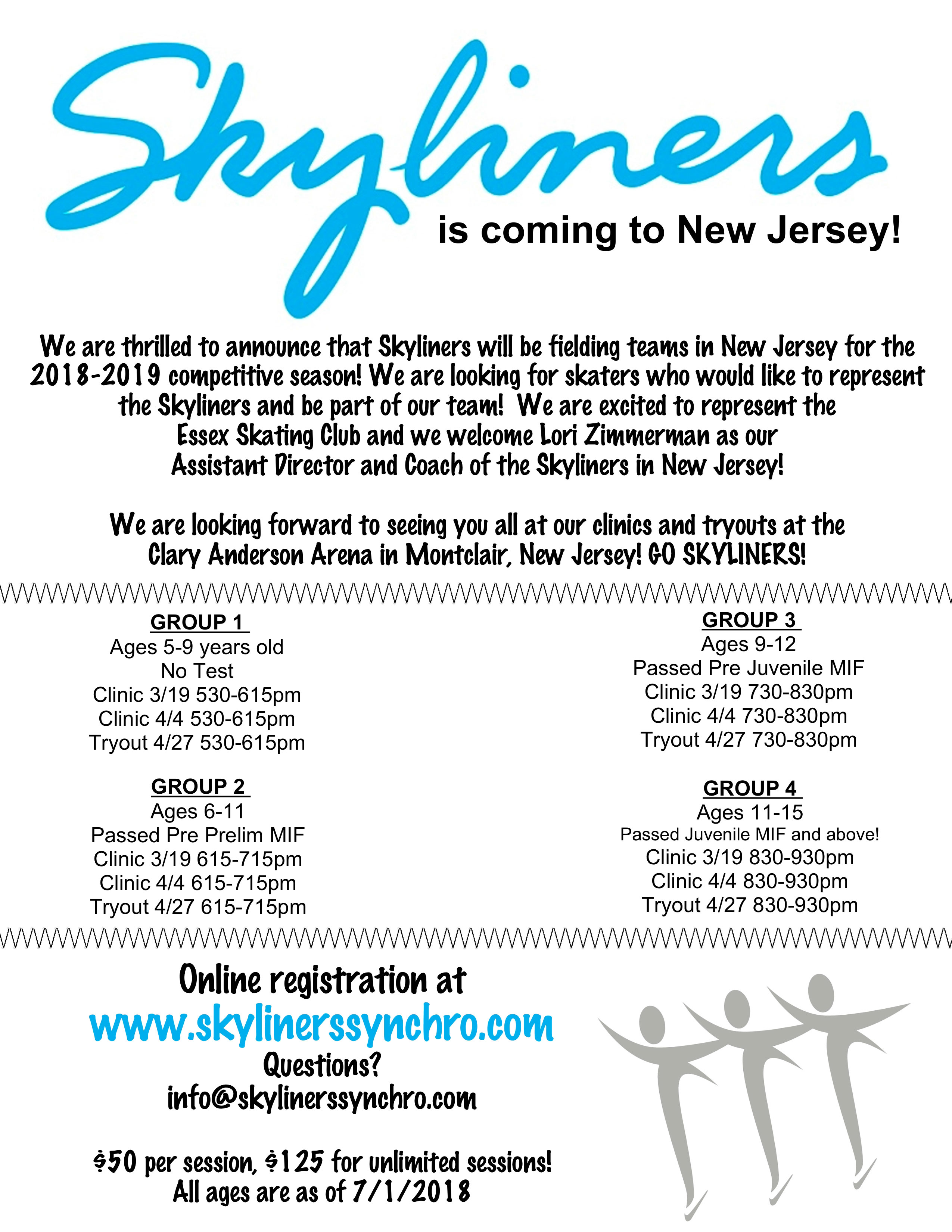 Skyliners in New Jersey